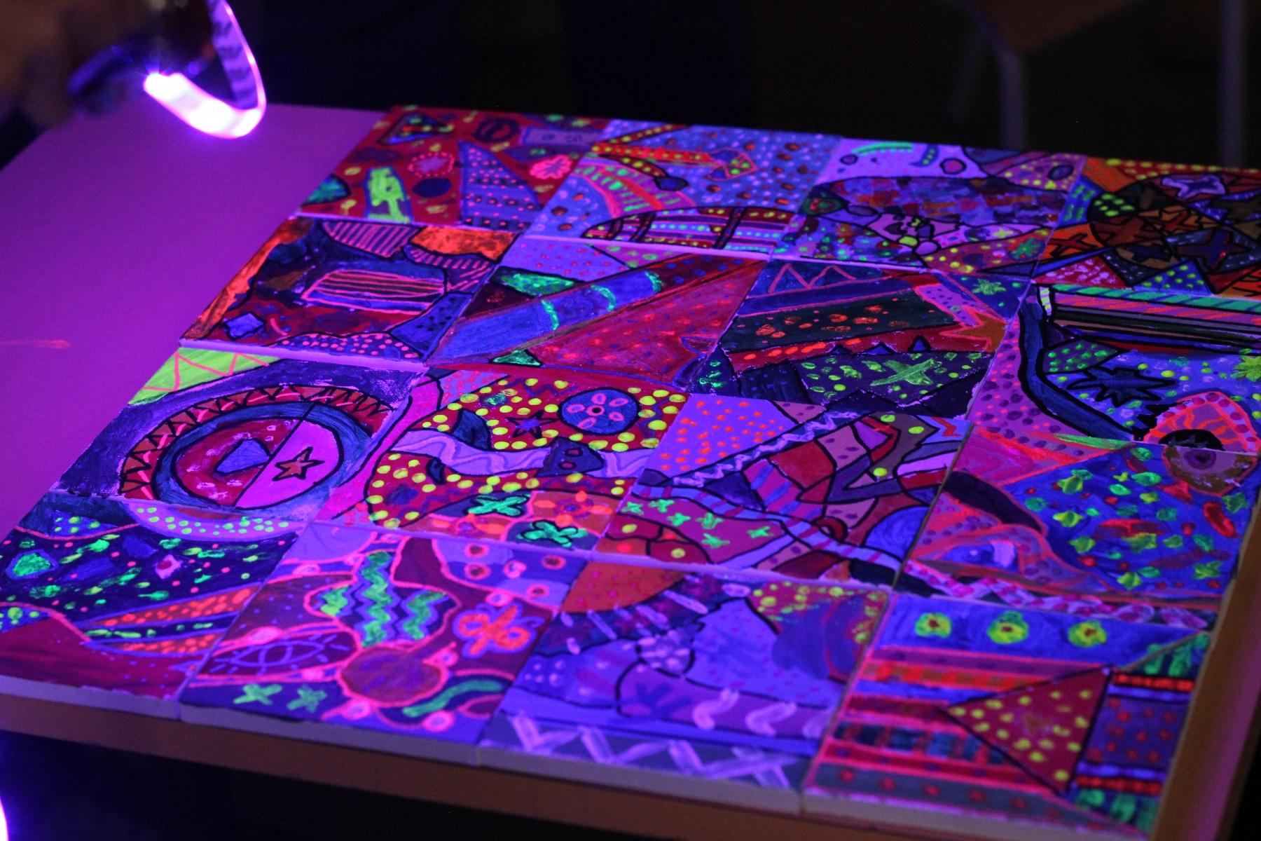 Atelier  couleur et lumière